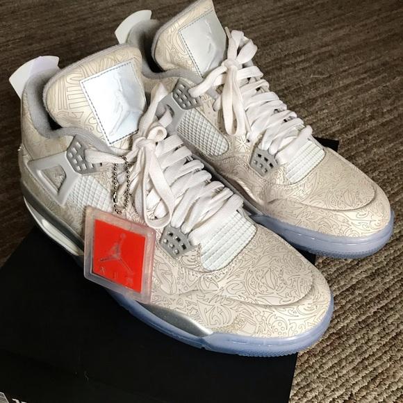 Jordan Shoes   Jordan Retro 4 Lasers